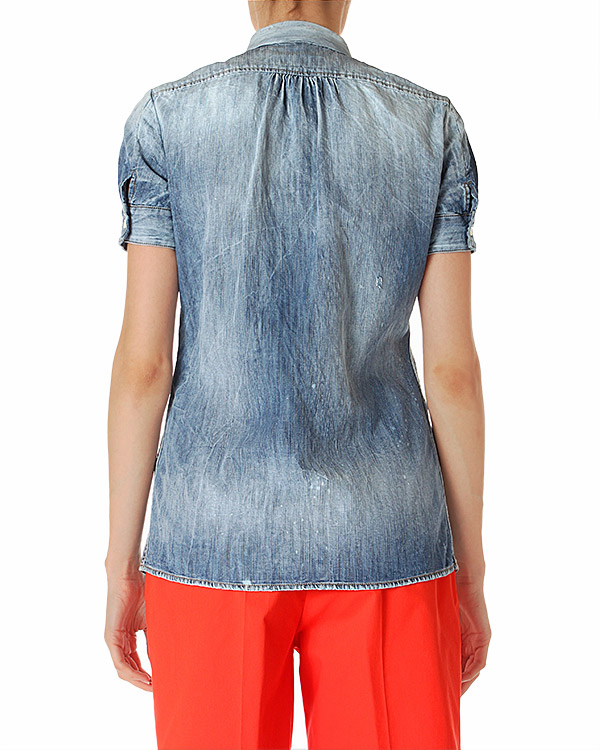 женская блуза DSQUARED, сезон: лето 2014. Купить за 10800 руб. | Фото 2