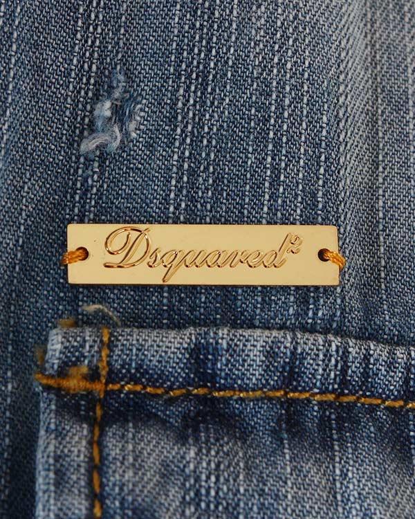 женская блуза DSQUARED, сезон: лето 2014. Купить за 10800 руб. | Фото 4