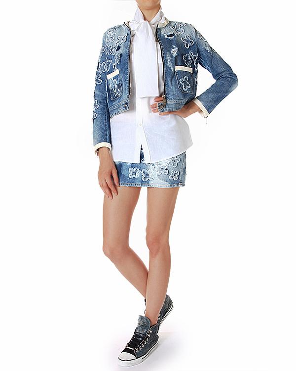 женская блуза DSQUARED, сезон: лето 2014. Купить за 12400 руб. | Фото 3
