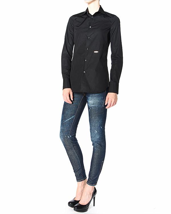 женская рубашка DSQUARED2, сезон: зима 2014/15. Купить за 12900 руб. | Фото 3