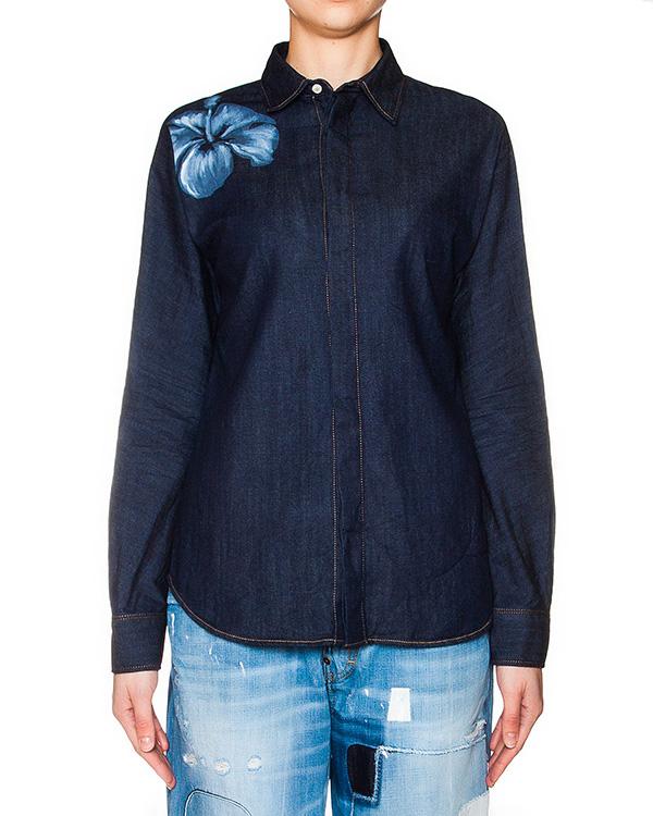 женская рубашка DSQUARED, сезон: лето 2016. Купить за 14500 руб. | Фото 1