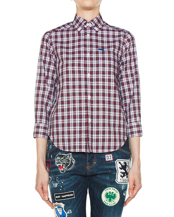 рубашка  артикул S72DL0473 марки DSQUARED купить за 25000 руб.