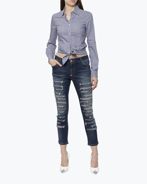 женская рубашка DSQUARED2, сезон: лето 2017. Купить за 11600 руб. | Фото $i