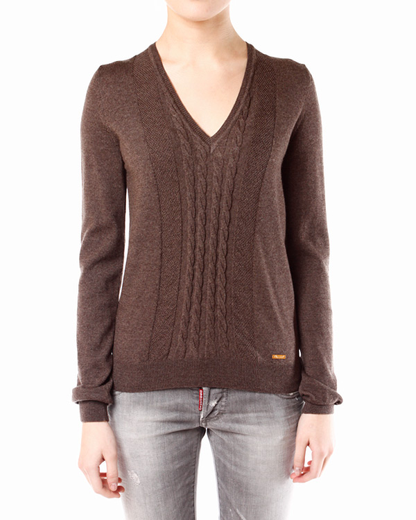 женская пуловер DSQUARED, сезон: зима 2013/14. Купить за 9300 руб. | Фото 1