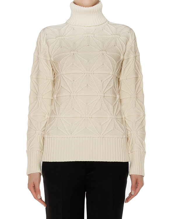 свитер из мягкой шерсти с фактурным узором артикул S72HA0648 марки DSQUARED купить за 48400 руб.