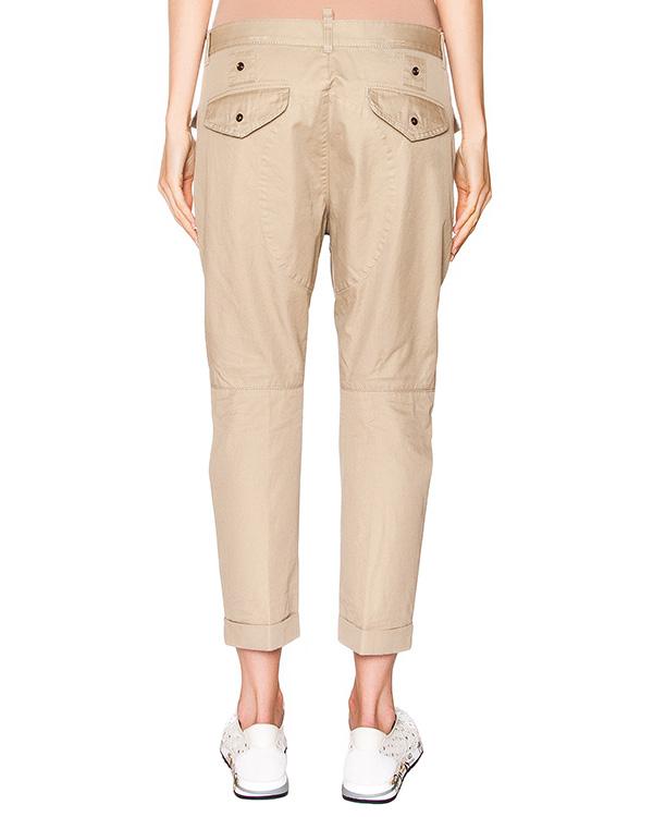 женская брюки DSQUARED, сезон: лето 2016. Купить за 24200 руб. | Фото 2