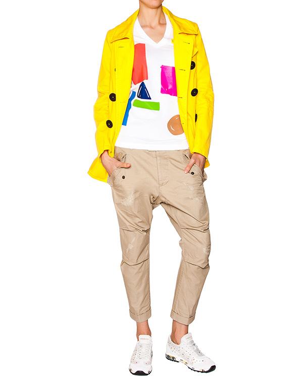 женская брюки DSQUARED, сезон: лето 2016. Купить за 24200 руб. | Фото 3