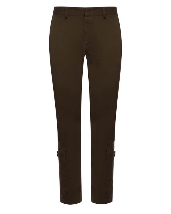брюки укороченного силуэта из хлопка артикул S72KA0762 марки DSQUARED2 купить за 35500 руб.