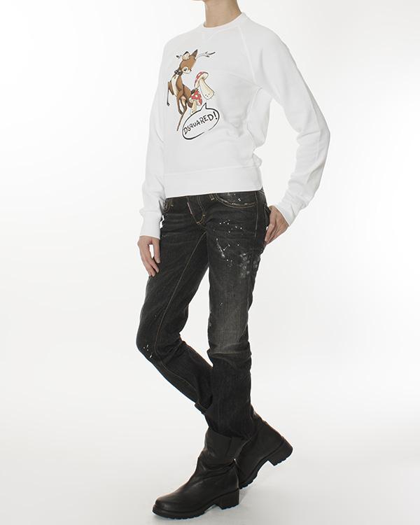 женская джинсы DSQUARED, сезон: зима 2012/13. Купить за 10500 руб. | Фото 3