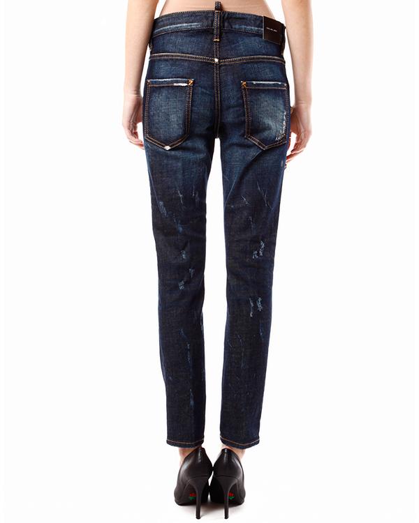 женская джинсы DSQUARED, сезон: зима 2013/14. Купить за 26500 руб. | Фото 2