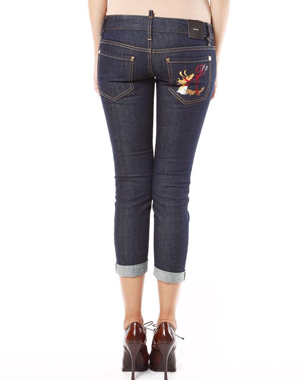 женская джинсы DSQUARED, сезон: зима 2013/14. Купить за 7500 руб. | Фото 2