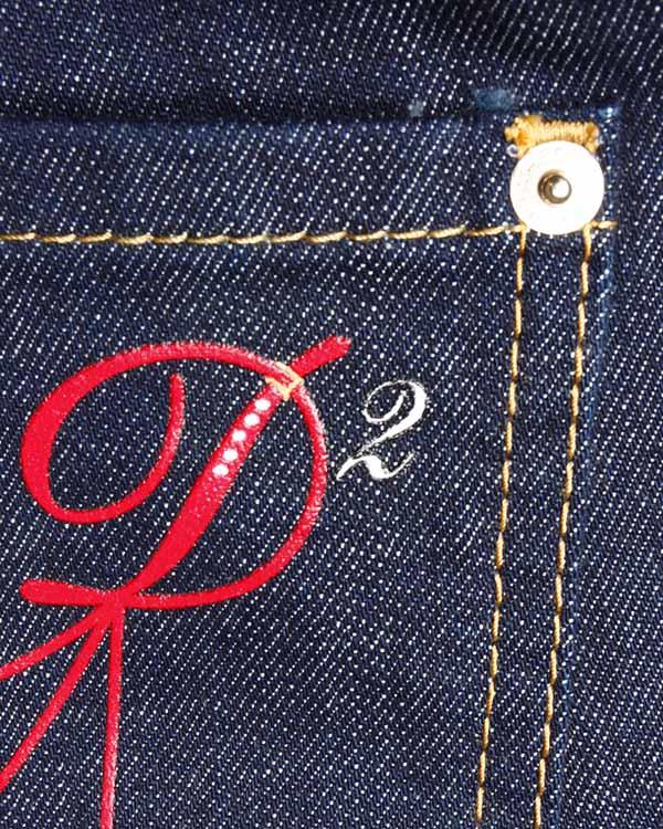 женская джинсы DSQUARED, сезон: зима 2013/14. Купить за 7500 руб. | Фото 4