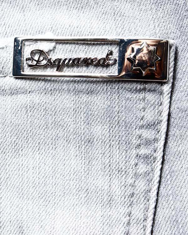 женская джинсы DSQUARED, сезон: зима 2013/14. Купить за 9700 руб. | Фото 4