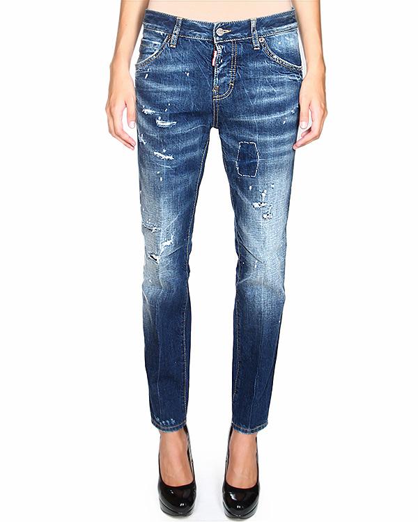женская джинсы DSQUARED, сезон: зима 2014/15. Купить за 16700 руб. | Фото 1