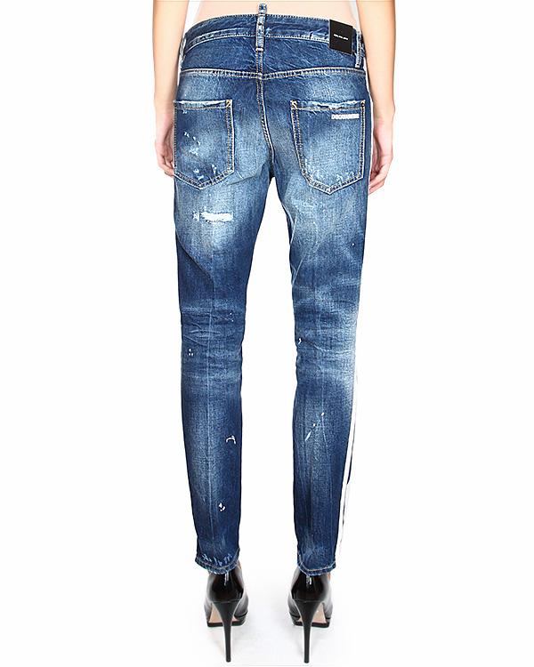 женская джинсы DSQUARED, сезон: зима 2014/15. Купить за 16700 руб. | Фото 2