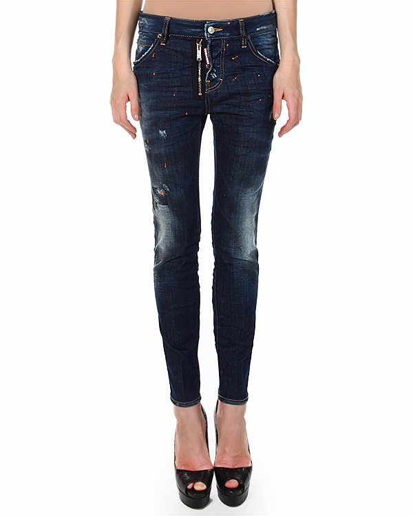 женская джинсы DSQUARED, сезон: зима 2014/15. Купить за 14500 руб.   Фото $i