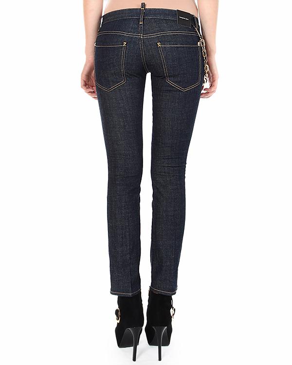 женская джинсы DSQUARED, сезон: зима 2014/15. Купить за 17800 руб. | Фото 2