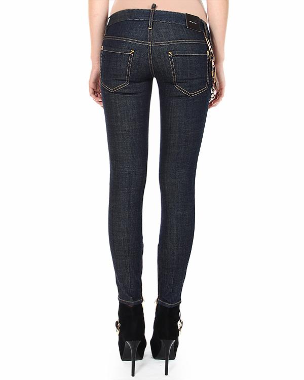 женская джинсы DSQUARED, сезон: зима 2014/15. Купить за 18800 руб. | Фото 2