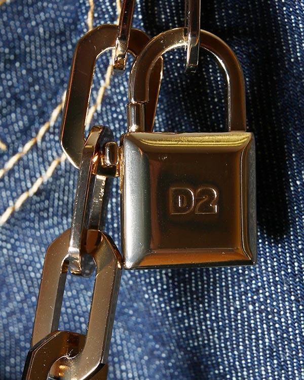 женская джинсы DSQUARED, сезон: зима 2014/15. Купить за 18800 руб. | Фото 4