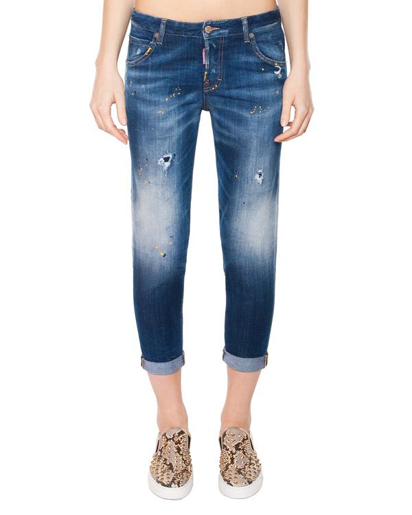 женская джинсы DSQUARED, сезон: лето 2015. Купить за 16500 руб. | Фото 1