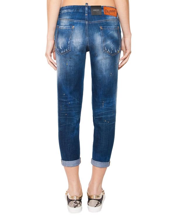 женская джинсы DSQUARED, сезон: лето 2015. Купить за 16500 руб. | Фото 2