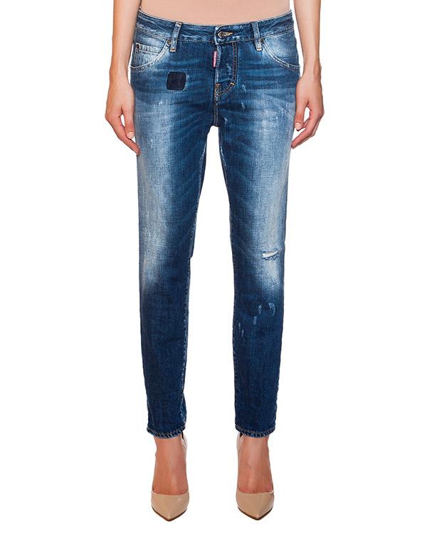 женская джинсы DSQUARED, сезон: лето 2015. Купить за 13800 руб. | Фото 1
