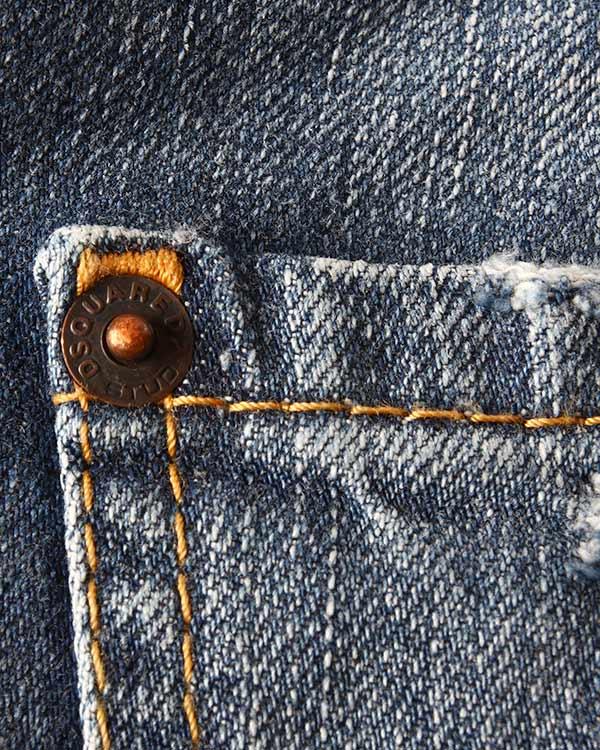 женская джинсы DSQUARED, сезон: лето 2015. Купить за 13800 руб. | Фото 4