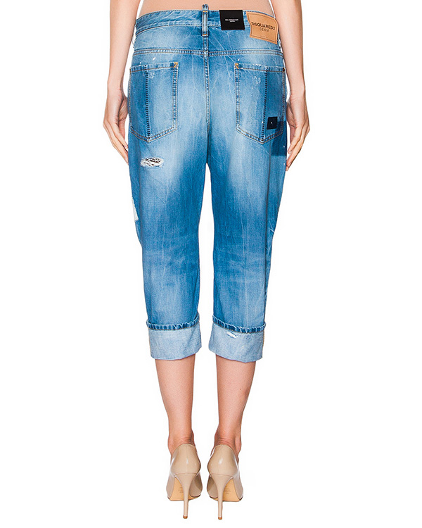 женская джинсы DSQUARED, сезон: лето 2016. Купить за 37300 руб. | Фото 2