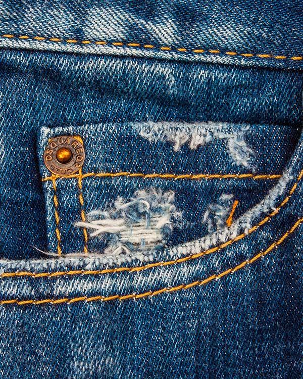 женская джинсы DSQUARED, сезон: лето 2016. Купить за 23800 руб. | Фото 4