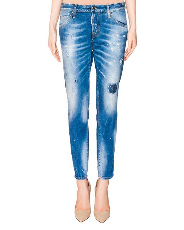 женская джинсы DSQUARED, сезон: лето 2016. Купить за 26400 руб. | Фото 1