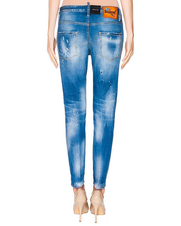 женская джинсы DSQUARED, сезон: лето 2016. Купить за 26400 руб. | Фото 2