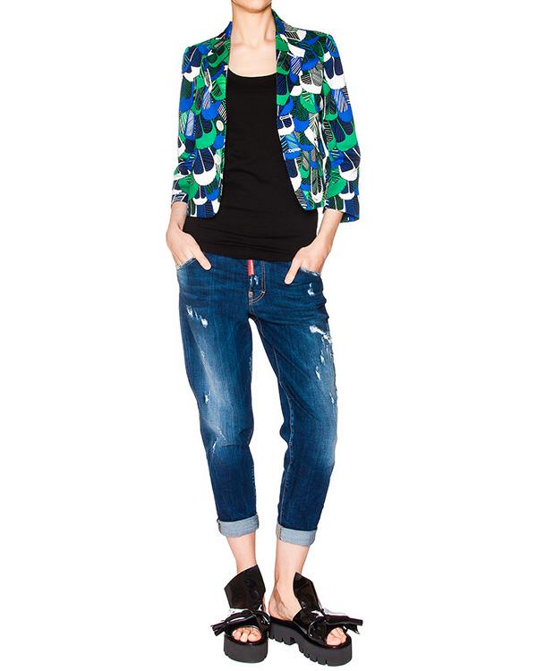 женская джинсы DSQUARED, сезон: лето 2016. Купить за 23800 руб. | Фото 3