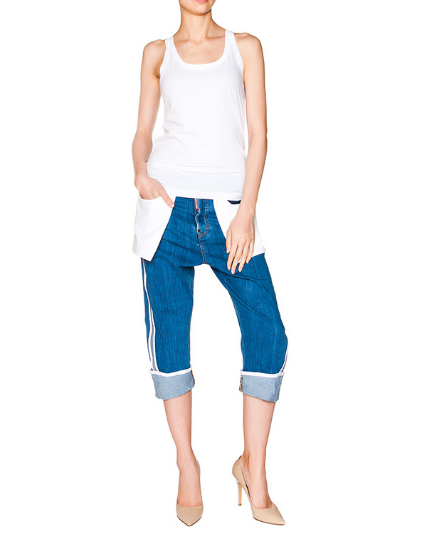 женская джинсы DSQUARED, сезон: лето 2016. Купить за 39200 руб. | Фото 3