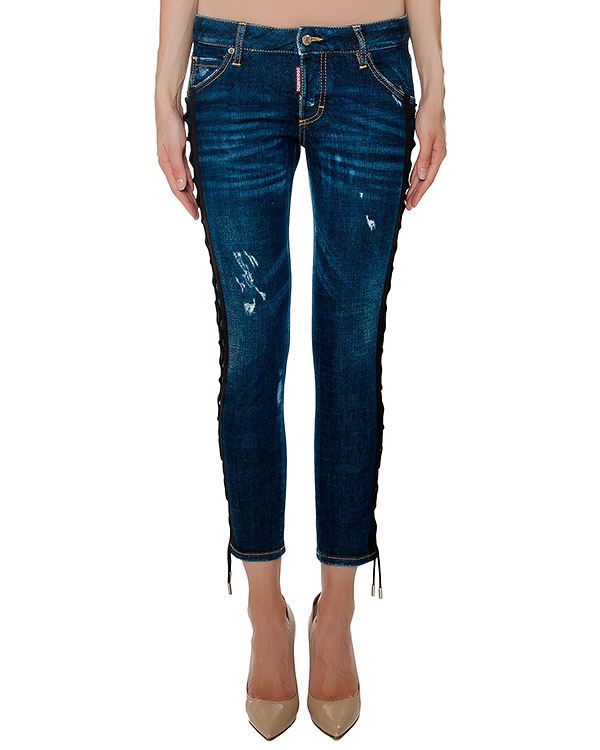 женская джинсы DSQUARED, сезон: зима 2016/17. Купить за 45200 руб. | Фото 1