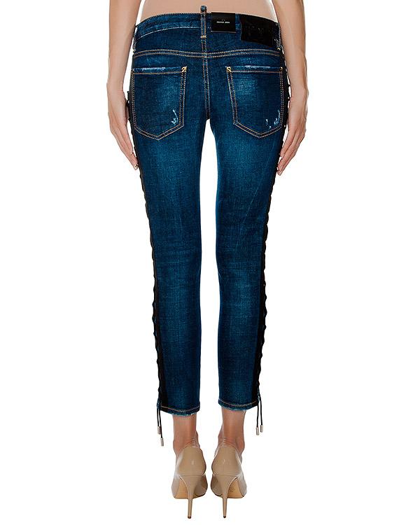 женская джинсы DSQUARED, сезон: зима 2016/17. Купить за 45200 руб. | Фото 2