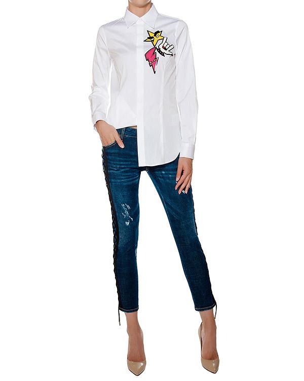женская джинсы DSQUARED, сезон: зима 2016/17. Купить за 31600 руб. | Фото 3