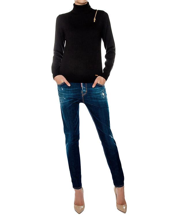 женская джинсы DSQUARED, сезон: зима 2016/17. Купить за 18500 руб. | Фото 3