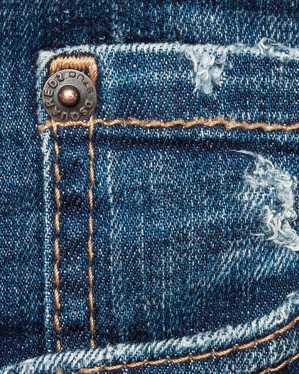женская джинсы DSQUARED, сезон: зима 2016/17. Купить за 18500 руб. | Фото 4