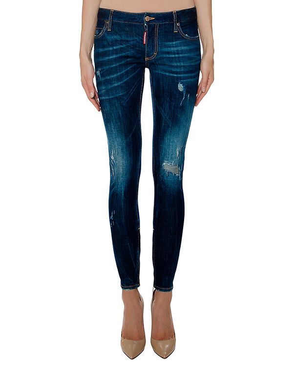 женская джинсы DSQUARED, сезон: зима 2016/17. Купить за 23100 руб. | Фото 1