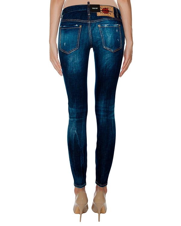 женская джинсы DSQUARED, сезон: зима 2016/17. Купить за 23100 руб. | Фото 2