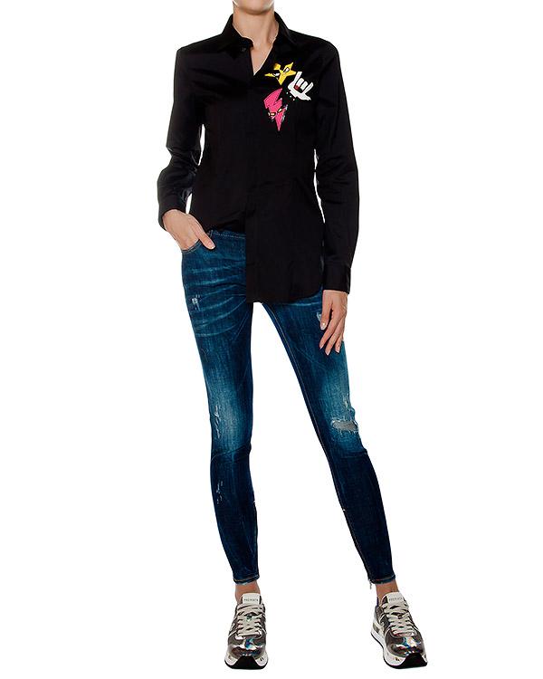 женская джинсы DSQUARED, сезон: зима 2016/17. Купить за 23100 руб. | Фото 3