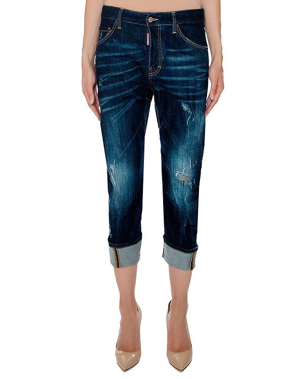 женская джинсы DSQUARED, сезон: зима 2016/17. Купить за 21600 руб. | Фото 1
