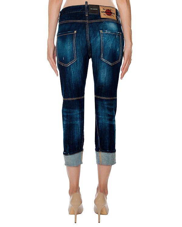 женская джинсы DSQUARED, сезон: зима 2016/17. Купить за 21600 руб. | Фото 2