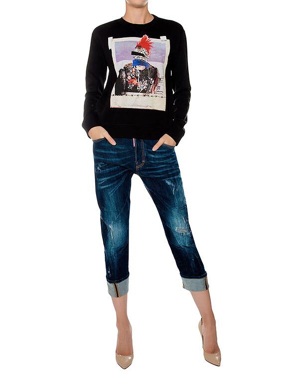 женская джинсы DSQUARED, сезон: зима 2016/17. Купить за 21600 руб. | Фото 3