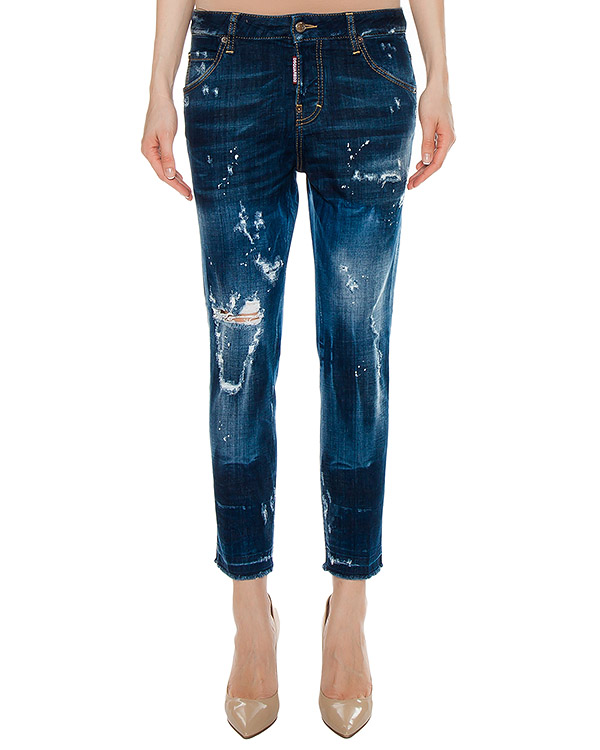 джинсы  артикул S72LA0939 марки DSQUARED купить за 33600 руб.