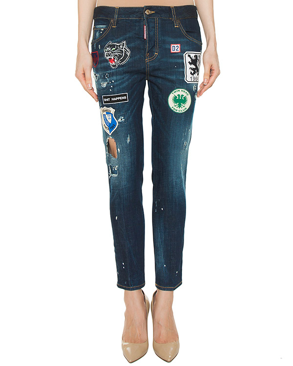 джинсы  артикул S72LA0943 марки DSQUARED купить за 41500 руб.
