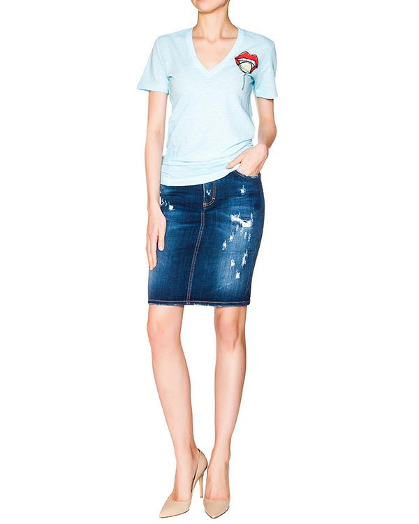 женская юбка DSQUARED2, сезон: лето 2016. Купить за 11600 руб. | Фото $i