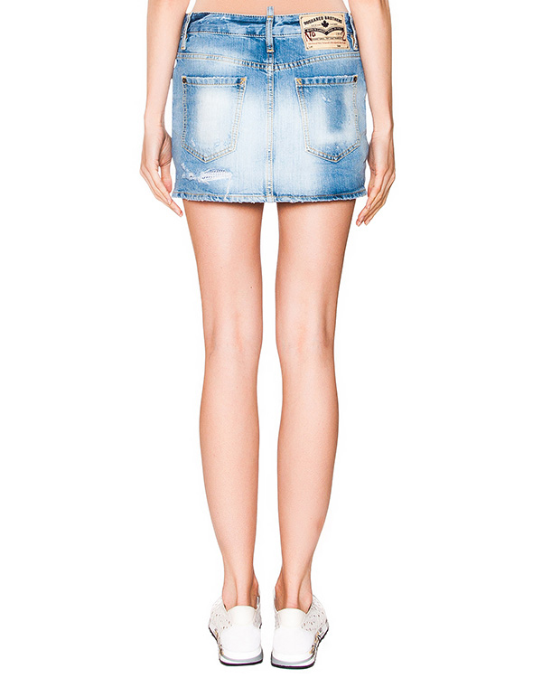 женская юбка DSQUARED, сезон: лето 2016. Купить за 15800 руб. | Фото 2