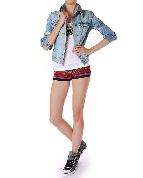 женская шорты DSQUARED, сезон: лето 2014. Купить за 7500 руб.   Фото $i