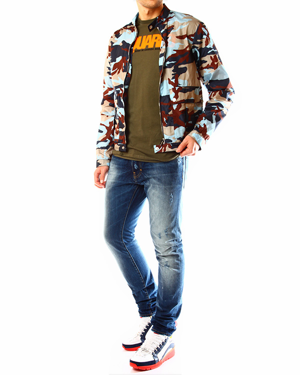 мужская куртка DSQUARED, сезон: лето 2014. Купить за 17900 руб. | Фото 3